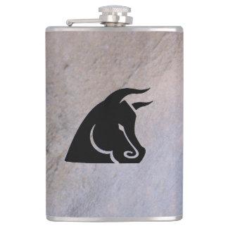 Cantil Garrafa determinada de Bull Camo
