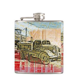 Cantil Garrafa do caminhão do vintage