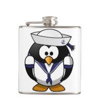 Garrafa do marinheiro do pinguim
