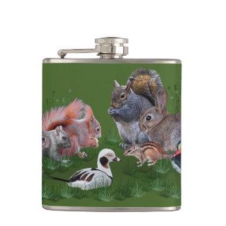 Cantil Garrafa dos animais da floresta