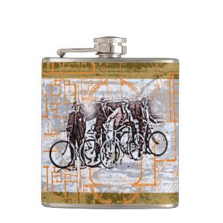Cantil Garrafa dos ciclistas do vintage
