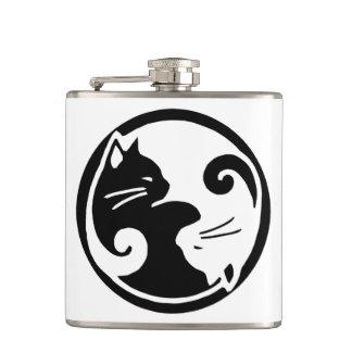 Cantil Garrafa dos gatos de Yin Yang