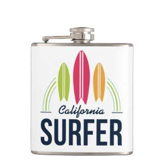 Cantil Garrafa feita sob encomenda do surfista do nome &