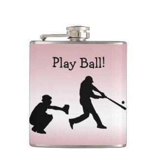 Cantil Garrafa feminino dos esportes do rosa da bola do