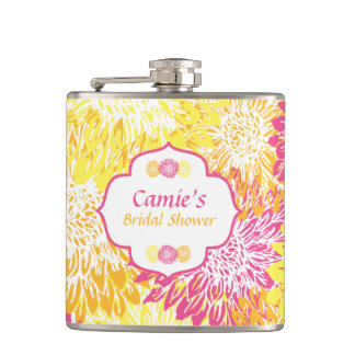 Cantil Garrafa floral brilhante do chá de panela