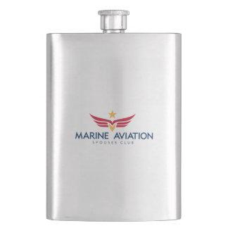 Cantil Garrafa marinha do clube dos esposos da aviação