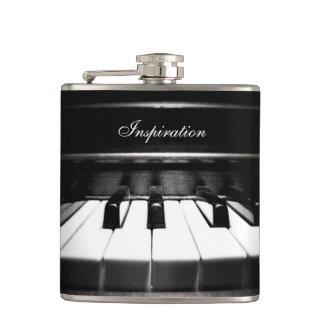 Cantil Garrafa personalizada piano da inspiração do