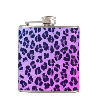 Cantil Garrafa roxa & cor-de-rosa feminino da garrafa 6oz
