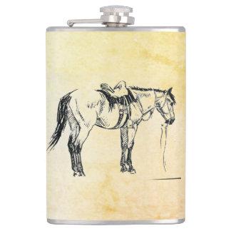 Cantil Garrafa selada do cavalo