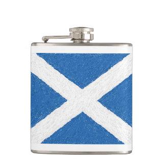 Cantil Garrafa transversal da bandeira de Scotland St
