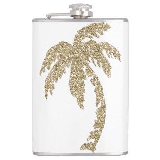 Cantil Garrafa tropical 8oz da palmeira do efeito do