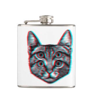 Cantil Gato 3d, 3d gato, gato preto e branco