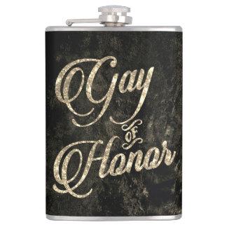 Cantil Gay do ouro nupcial da lembrança do partido do bar