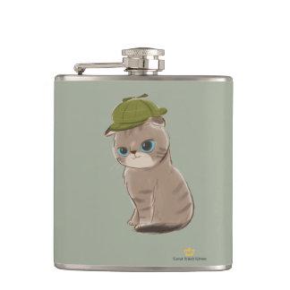 Cantil Grandes gatinhos britânicos - garrafa envolvida