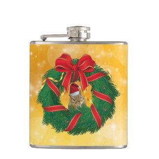 Cantil Grinalda bonito do Natal do Chipmunk