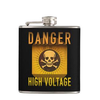 Cantil Grunge retro de alta tensão da idade atômica do