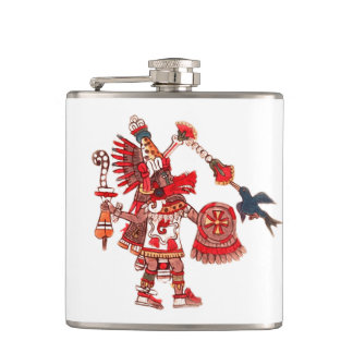 Cantil Guerreiro asteca do shaman da dança