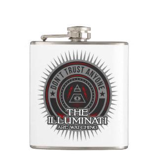 Cantil Illuminati está olhando não confia qualquer um