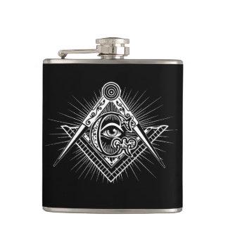 Cantil Illuminati todo o símbolo de vista do Freemason do
