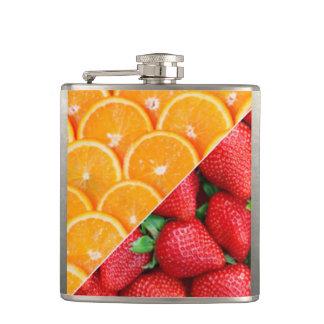 Cantil Laranjas & colagem das morangos