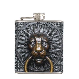 Cantil Leão de Doorknocker - preto/ouro