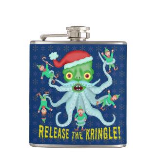 Cantil Liberação engraçada do Natal o Kringle Papai Noel