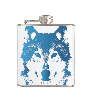 Cantil Lobo do azul de gelo da ilustração