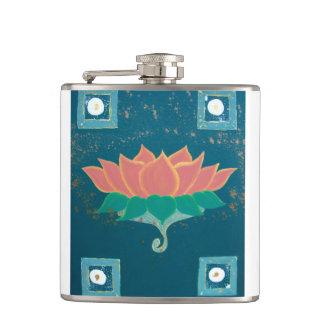 Cantil Lotus que pinta a garrafa impressa