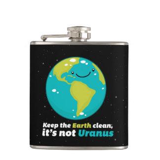 Cantil Mantenha a terra limpa