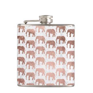 Cantil Mármore cor-de-rosa do branco dos elefantes do