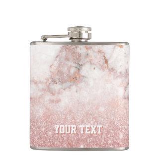 Cantil Mármore cor-de-rosa personalizado do branco do