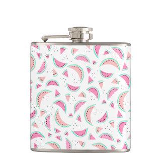 Cantil Melancias corais de turquesa do rosa pastel do