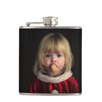 Cantil Menina do Natal - criança do Natal - menina bonito