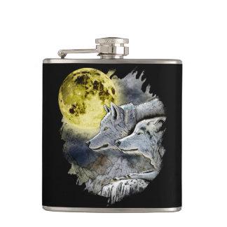 Cantil Montanha da lua do lobo da fantasia