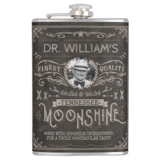 Cantil Moonshine o costume Brown da medicina do Hillbilly