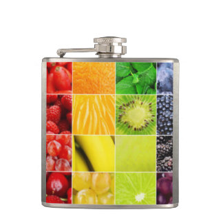 Cantil Multi colagem colorida da fruta