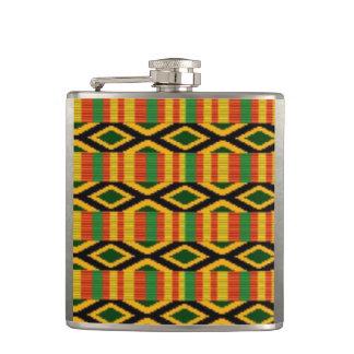 Cantil Multi design africano do impressão do teste padrão