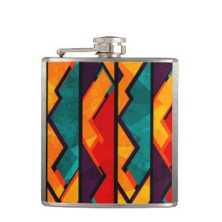 Cantil Multi design colorido africano do impressão do
