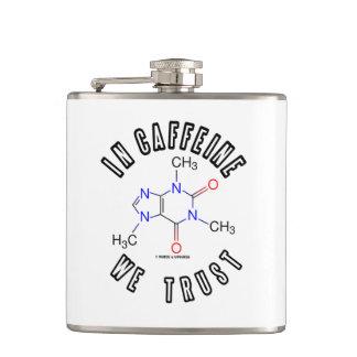 Cantil Na cafeína nós confiamos a química da molécula da
