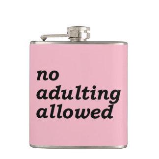 Cantil Nenhuma garrafa permitida Adulting