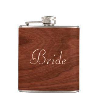 Cantil Olhar de madeira personalizado do casamento