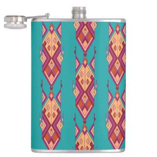 Cantil Ornamento asteca tribal étnico do vintage