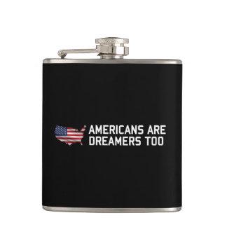 Cantil Os americanos do trunfo são sonhadores constroem