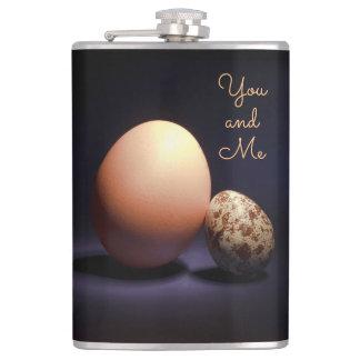 """Cantil Ovos da galinha e de codorniz no amor. Texto """"você"""