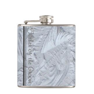 Cantil PAI de vidro Textured do NOIVO