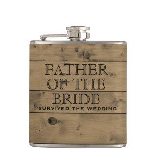 Cantil País de madeira rústico que Wedding o pai de   da