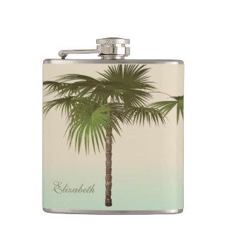 Cantil Palmeira tropical romântica - personalizada