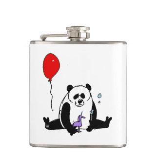 Cantil Panda Bear playing with Soapbubble and Unicorn
