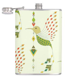 Cantil Pássaro asteca tribal étnico do vintage