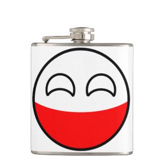 Cantil Polônia Geeky de tensão engraçado Countryball